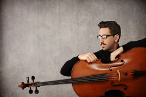 Brendon Phelps with cello