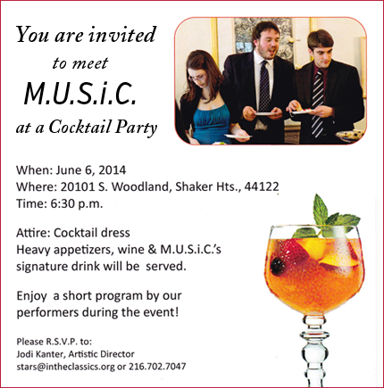 Cocktail Party June 2014