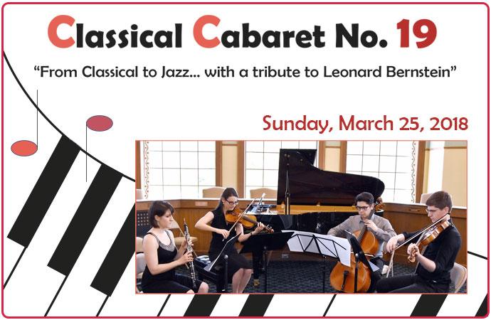 Classical Cabaret March 2018
