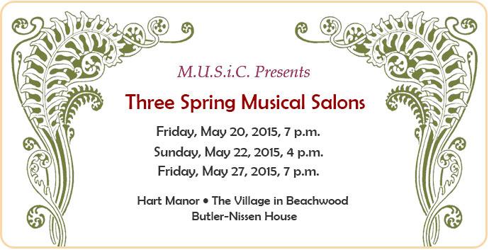 Spring Musical Salon May 2016