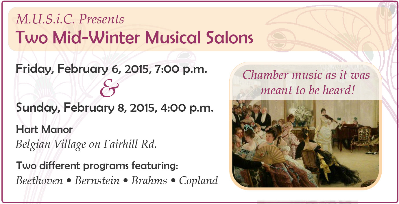 Mid-Winter Musical Salon