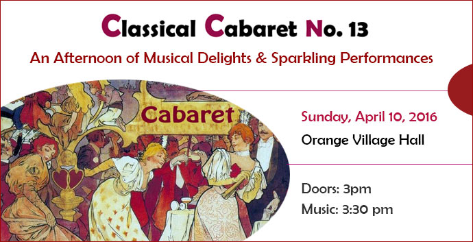 Classical Cabaret April 2016