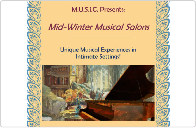 Mid-Winter Musical Salons Feb 2017