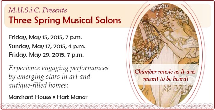 Spring Musical Salons